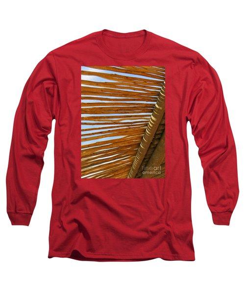 Sky-lined  Long Sleeve T-Shirt by Joy Hardee