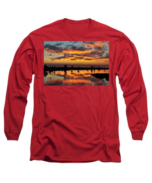 Sky Writing Long Sleeve T-Shirt