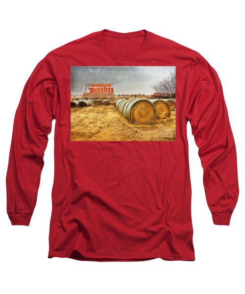 Slumbering In The Countryside Long Sleeve T-Shirt