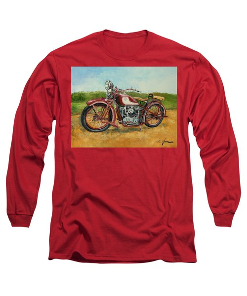 Sokol 1000 - Polish Motorcycle Long Sleeve T-Shirt
