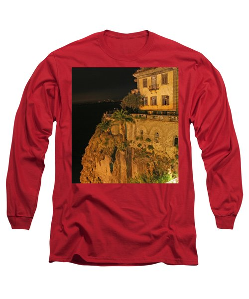 Sorrento Italy Long Sleeve T-Shirt by Richard Engelbrecht