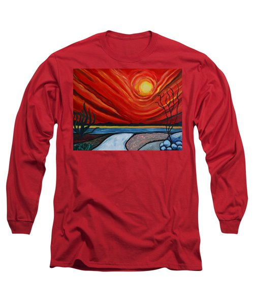 Southwest Desert Sun Long Sleeve T-Shirt