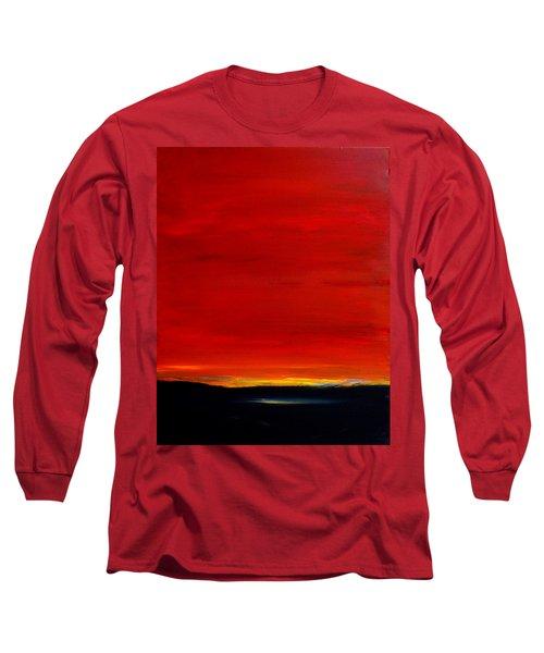 Southwest Desert Sunrise Long Sleeve T-Shirt
