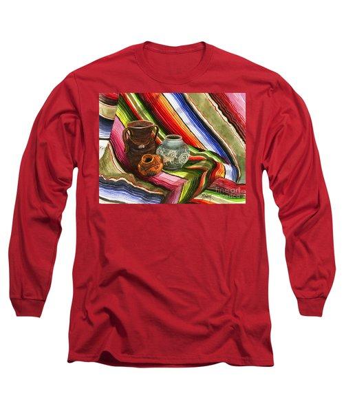 Southwest Still Life Long Sleeve T-Shirt by Marilyn Smith