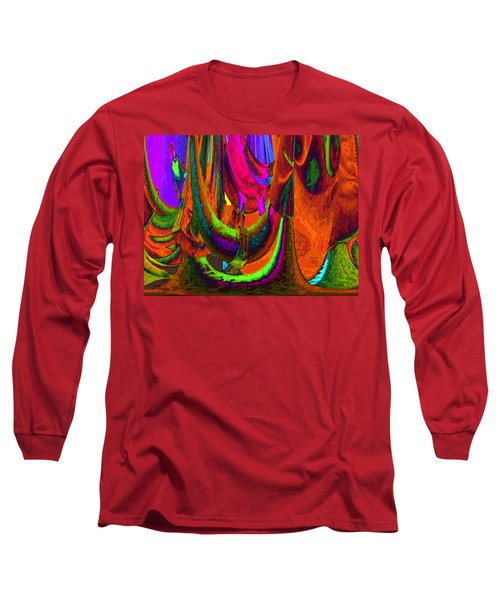 Spelunking On Venus Long Sleeve T-Shirt