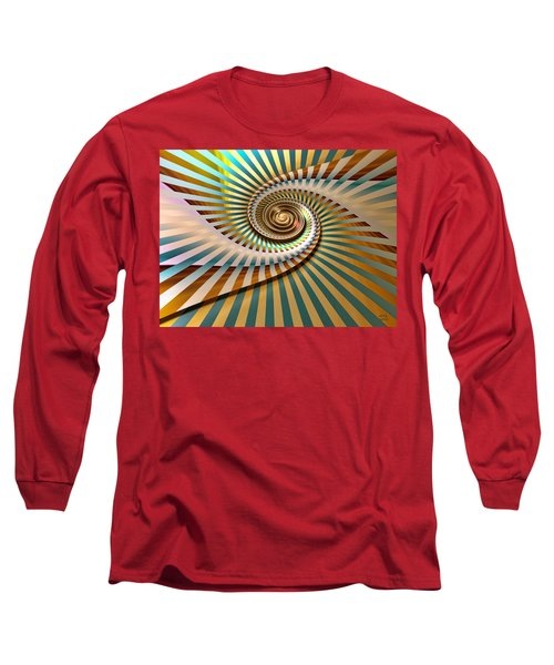Spin Long Sleeve T-Shirt by Manny Lorenzo