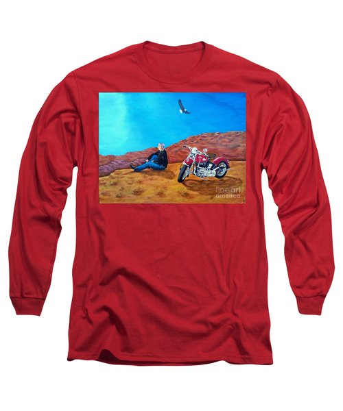 Spirit Eagle Long Sleeve T-Shirt