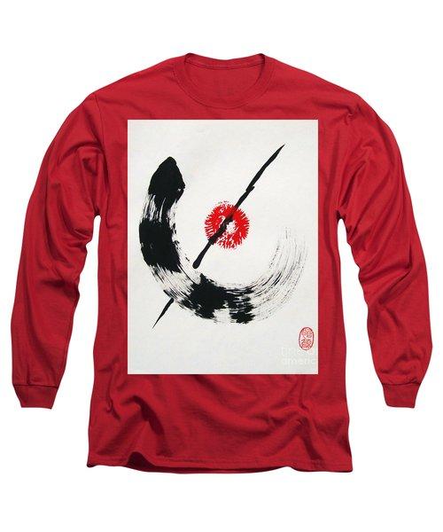 Spirit Of Zen Long Sleeve T-Shirt by Roberto Prusso