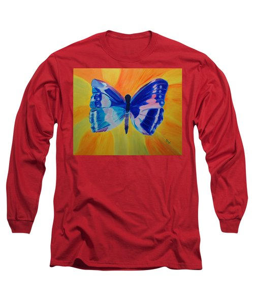 Spreading My Wings Long Sleeve T-Shirt