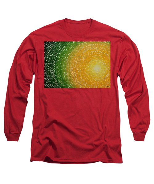 Spring Sun Original Painting Long Sleeve T-Shirt