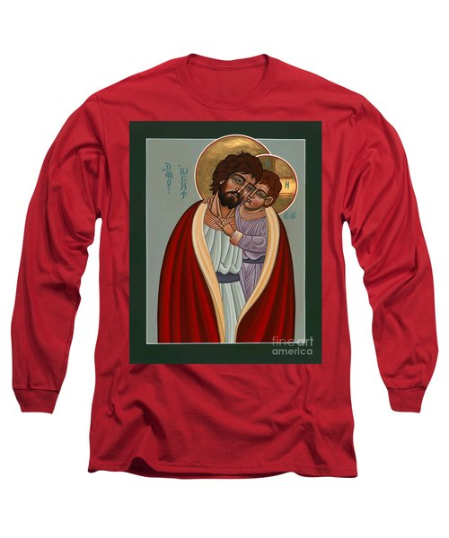 St. Joseph And The Holy Child 239 Long Sleeve T-Shirt