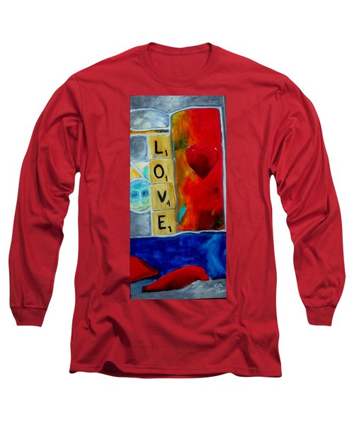 Stained Glass Love Long Sleeve T-Shirt