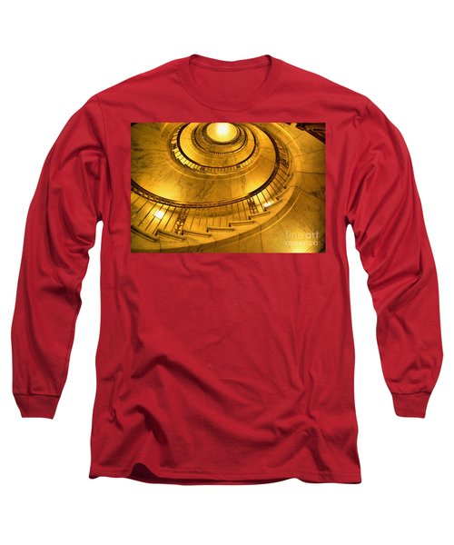 Stair Way To Justice Long Sleeve T-Shirt by John S