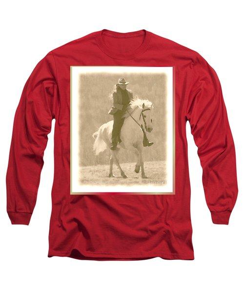 Stallion Strides Long Sleeve T-Shirt