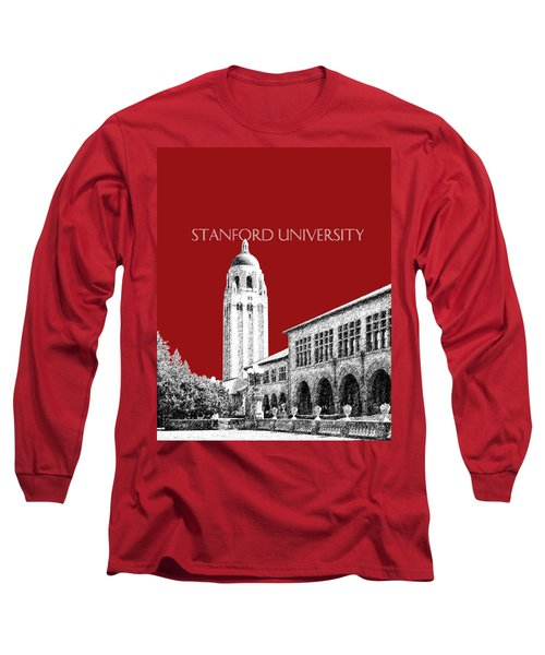 Stanford University - Dark Red Long Sleeve T-Shirt