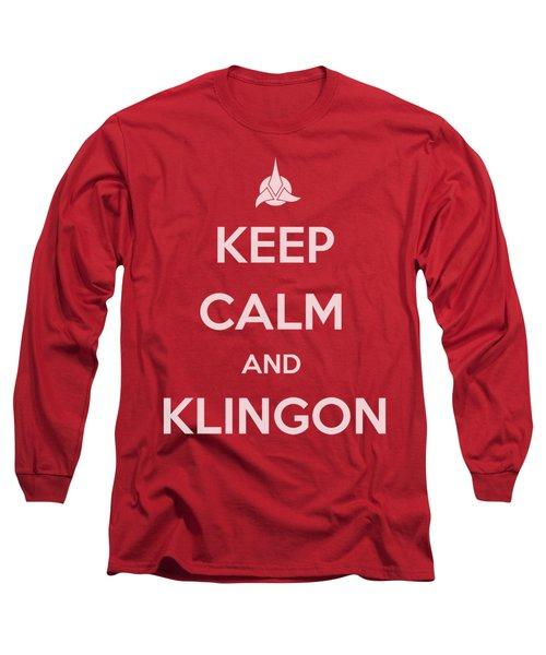 Star Trek - Calm Klingon Long Sleeve T-Shirt
