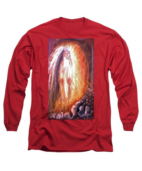 Statues At The Shrine Long Sleeve T-Shirt