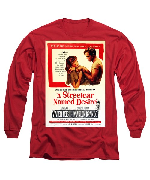 Stellaaaaa - A Streetcar Named Desire Long Sleeve T-Shirt