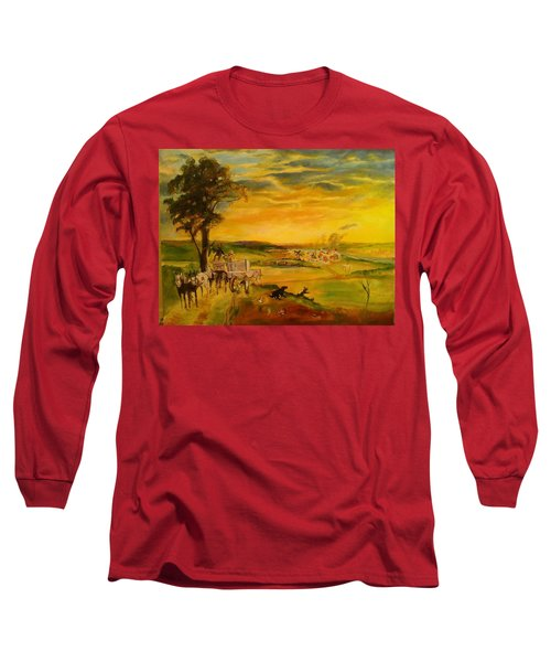Story Long Sleeve T-Shirt by Mary Ellen Anderson