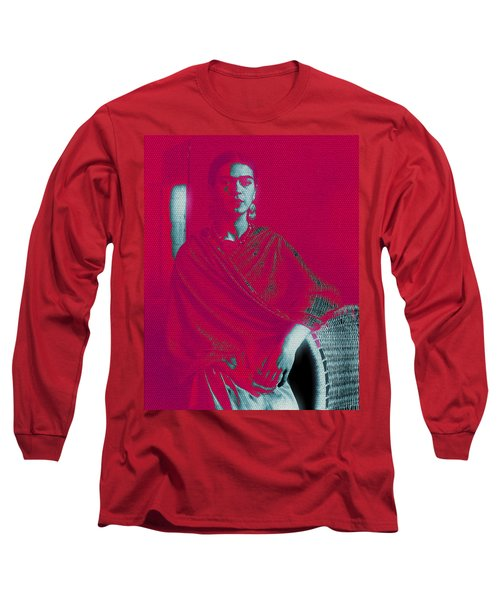 Strange Frida Long Sleeve T-Shirt