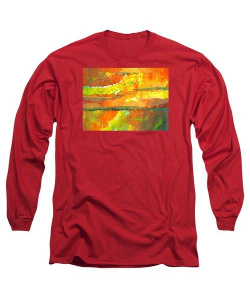 Strata Long Sleeve T-Shirt by Lynda Hoffman-Snodgrass