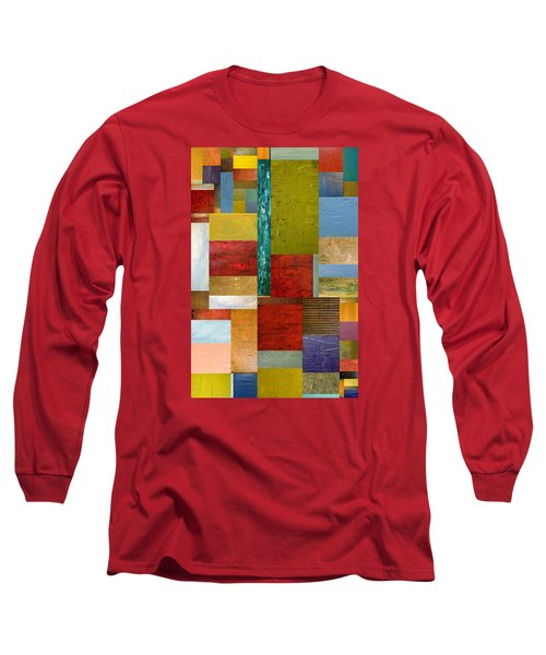 Strips And Pieces Lll Long Sleeve T-Shirt
