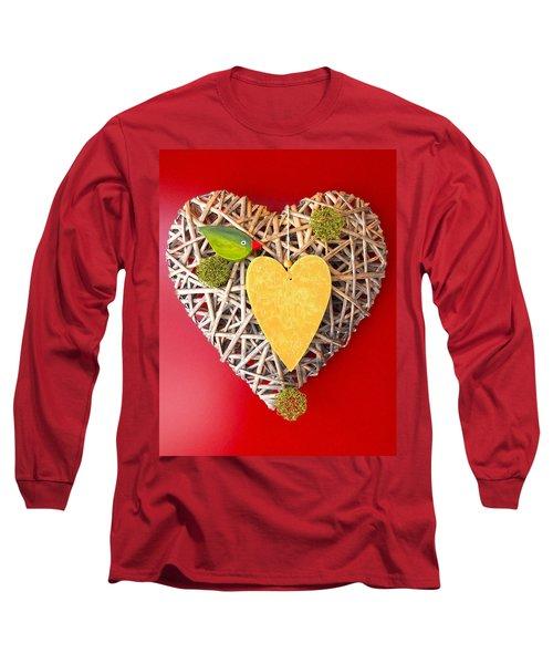 Long Sleeve T-Shirt featuring the photograph Summer Heart by Juergen Weiss