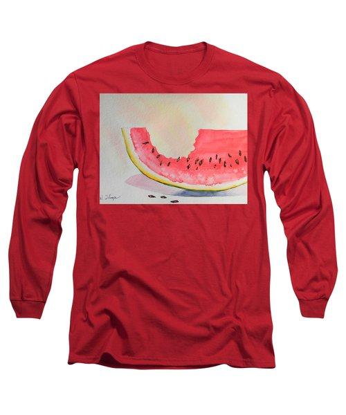 Summer Joy  Long Sleeve T-Shirt by Warren Thompson