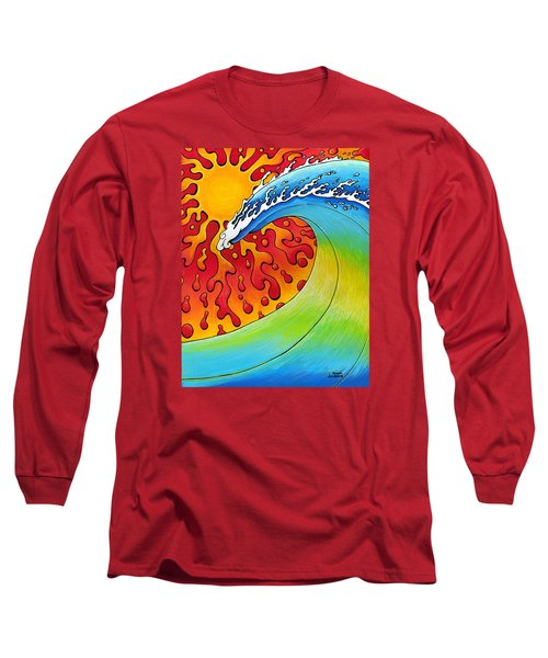 Sun And Surf Long Sleeve T-Shirt