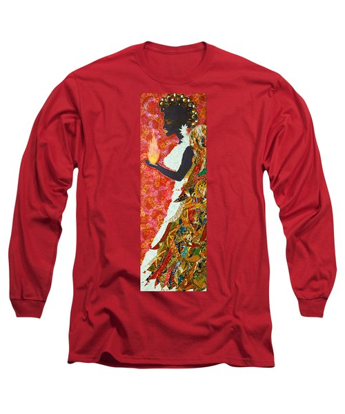 Sun Guardian - The Keeper Of The Universe Long Sleeve T-Shirt
