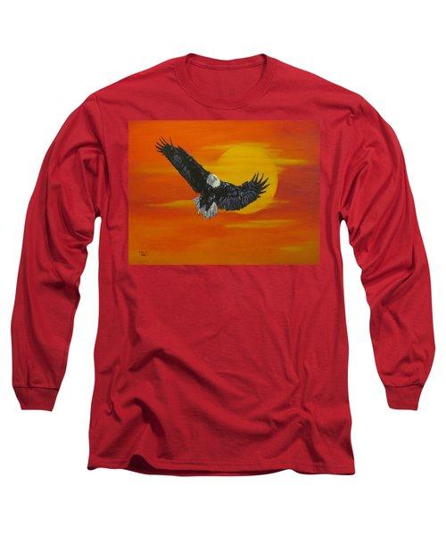 Sun Riser Long Sleeve T-Shirt by Wendy Shoults