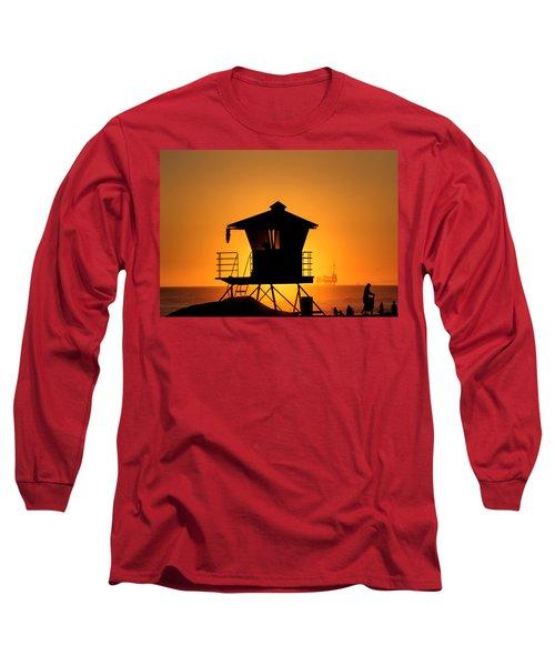 Sunburst Long Sleeve T-Shirt by Tammy Espino