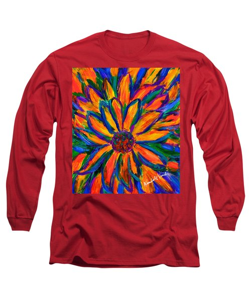 Sunflower Burst Long Sleeve T-Shirt