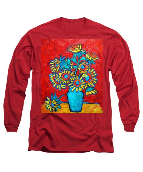 Sunflowers Bouquet Long Sleeve T-Shirt