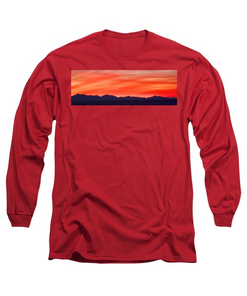 Long Sleeve T-Shirt featuring the photograph Sunset Algodones Dunes by Hugh Smith