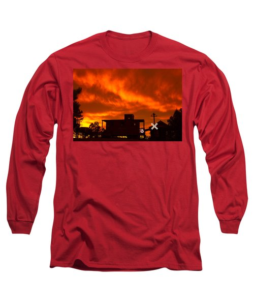Sunset Caboose Long Sleeve T-Shirt