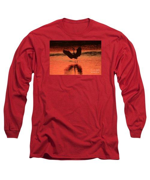 Sunset Dancer Long Sleeve T-Shirt