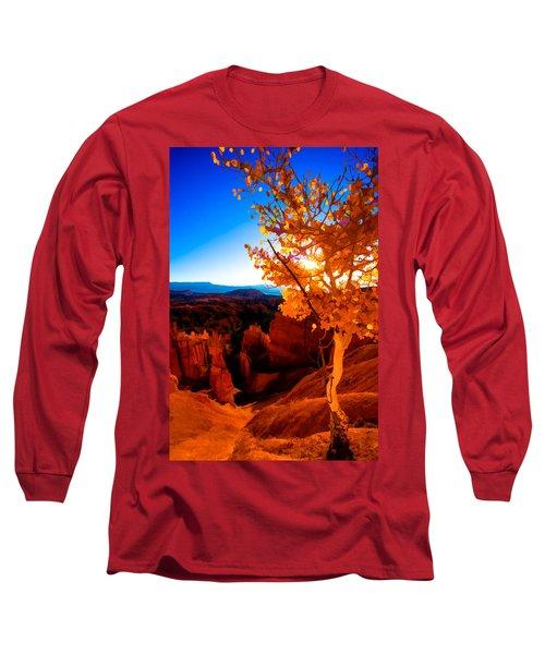 Sunset Fall Long Sleeve T-Shirt