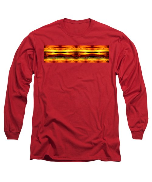 Sunset In Heaven Long Sleeve T-Shirt by Bruce Nutting
