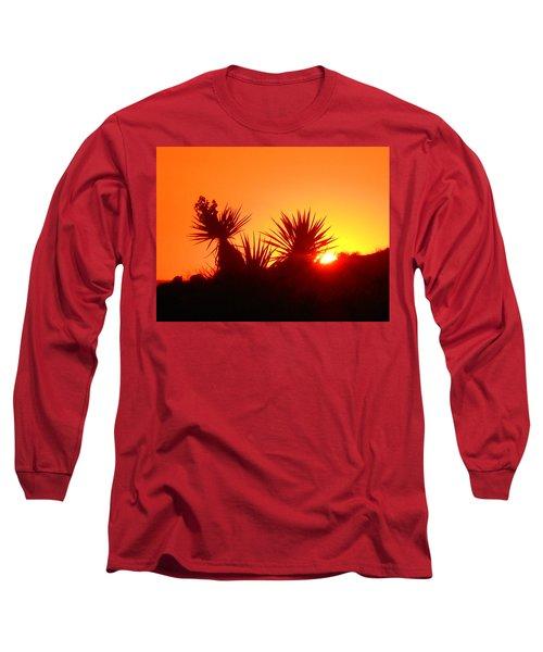Sunset Near Castle Rock Long Sleeve T-Shirt