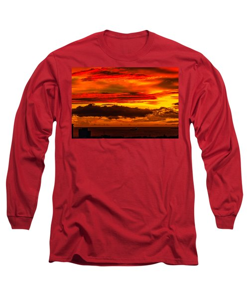 Sunset Wow2 Long Sleeve T-Shirt