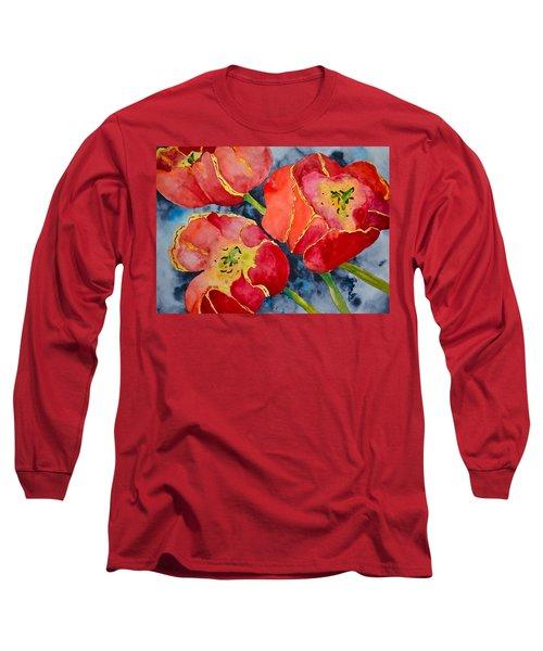Supta Vajrasana Long Sleeve T-Shirt