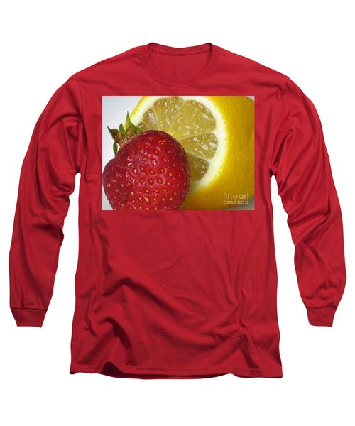 Long Sleeve T-Shirt featuring the photograph Sweet And Sour by Nina Silver