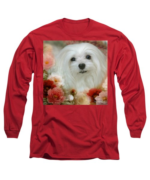 Sweet Snowdrop Long Sleeve T-Shirt