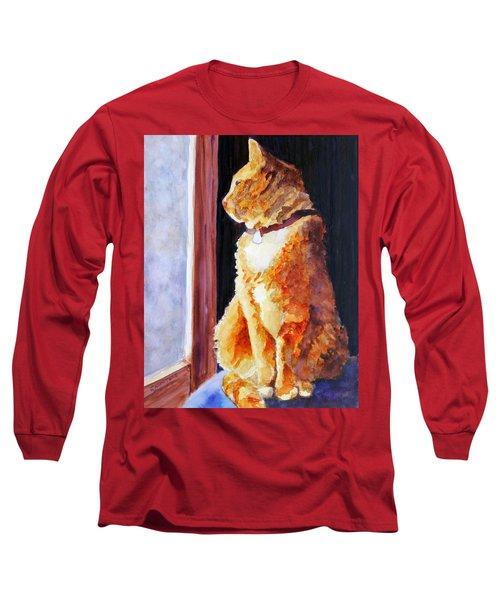 Tabby's Favorite Seat Long Sleeve T-Shirt