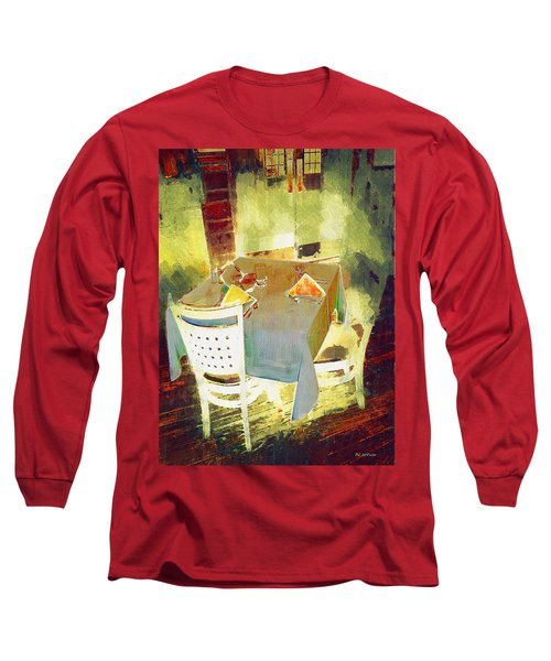 Table At The Fauve Cafe Long Sleeve T-Shirt