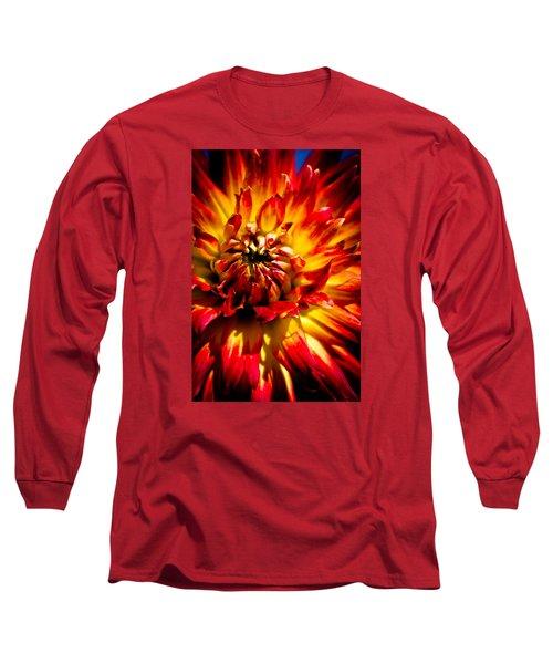 Tahiti Sunrise Long Sleeve T-Shirt by Joel Loftus