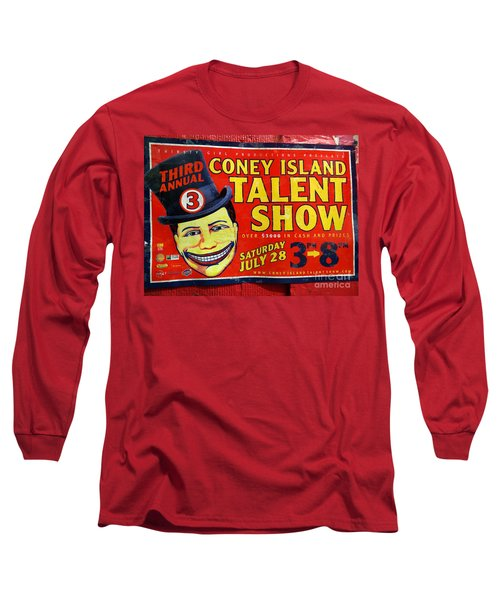 Talent Show Long Sleeve T-Shirt