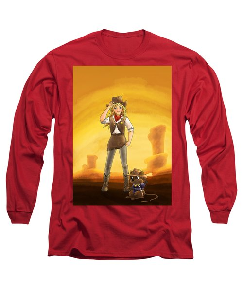 Tammy And Alfred Tame The West Long Sleeve T-Shirt