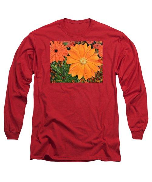 Tangerine Punch Long Sleeve T-Shirt